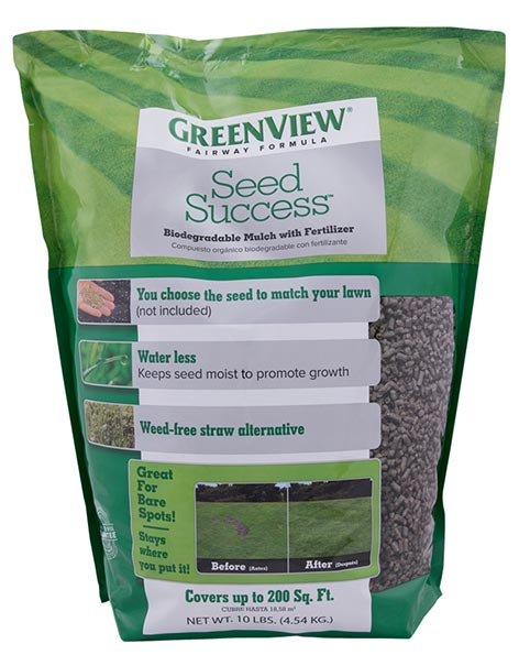 GreenView Fairway Formula Seed Success Biodegradable Mulch with Fertilizer 23-29826