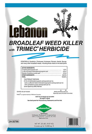 Broadleaf Weed Control with Trimec 24-35800