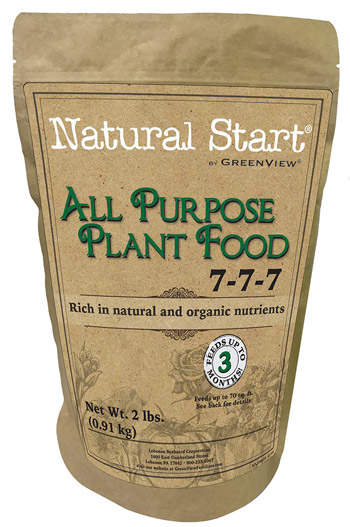 Natural Start by GreenView All Purpose Plant Food 2729812