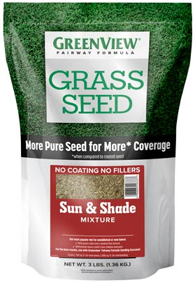 GreenView Fairway Formula Sun & Shade Grass Seed Mixture 28-29336